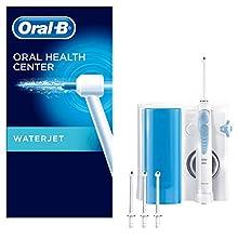 Oral-B Waterjet Sistema Pulente con Idropulsore e 4 Testine Waterjet, Pressione regolabile