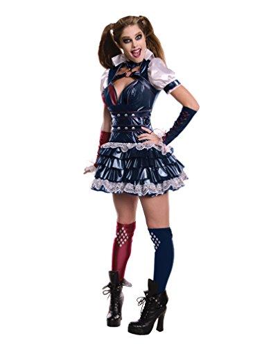 Harley Quinn Arkham Asylum Kostüm (Arkham Quinn Harley Asylum Kostüm)