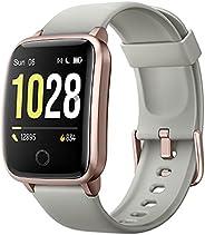 Willful Smartwatch Donna Uomo Orologio Fitness per Android iOS Contapassi e Calorie Cardiofrequenzimetro da po