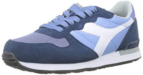 Diadora camaro, sneaker unisex adulto, grigio (azz ghiaccio/bl gagliardetto/b c7969), 43 eu