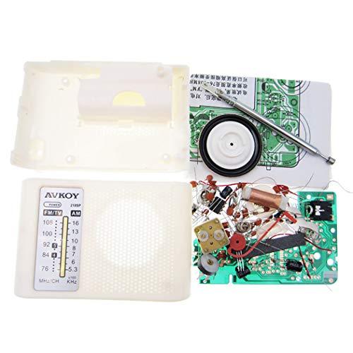 Kit Batteriebetriebenes Kreatives DIY Taschenradio ()