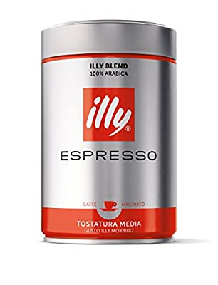 Illy Espresso Italian Ground Coffee, 250g by Illy