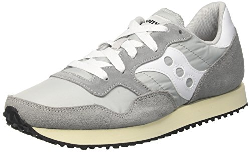 Saucony DXN Trainer Vintage, Zapatillas de Cross para Hombre, Gris (Grey/White 4), 43 EU