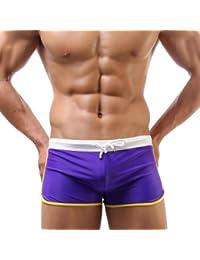 hoerev carré de mode maillot de bain, maillots de bain pour hommes