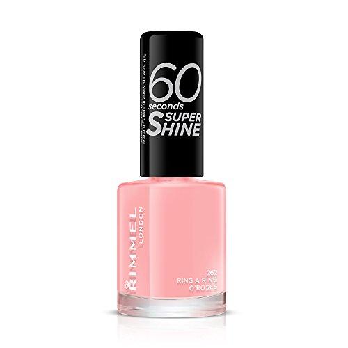 Rimmel London uñas maquillaje de 60 segundos de Super Shine Nail Polish Nr. 262 anillo A Ring O Rosas 8 ml