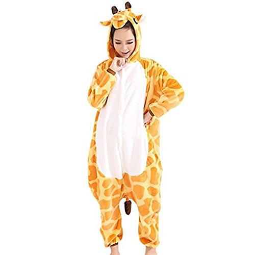 Kigurumi Pyjama Adulte Anime Cosplay Halloween Costume Tenue Girafe Medium