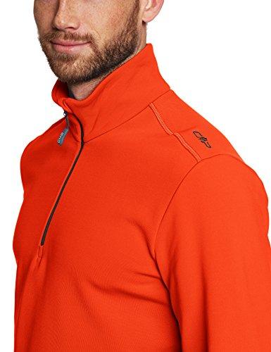 CMP Herren Fleece Rolli Shirt Tango