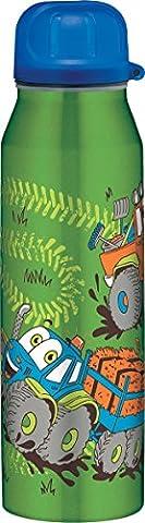 Alfi 5337706050 Isolier-Trinkflasche edelstahl (0,5 Liter) trucks grün