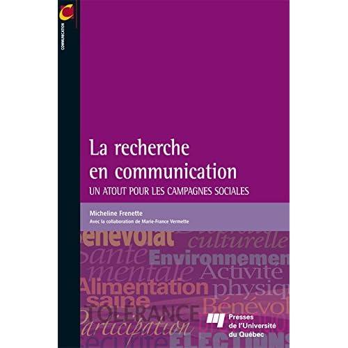 La recherche en communication: Un atout pour les campagnes sociales