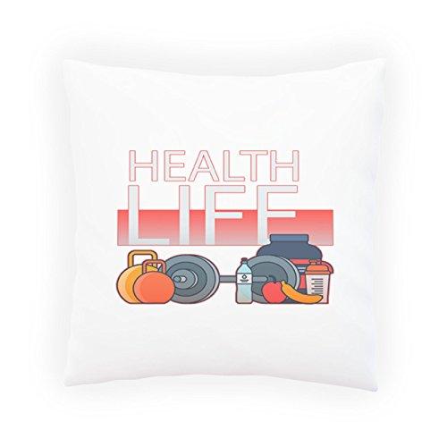 Gesundheit Leben Sporternährung Dekoratives Kissen, Kissenbezug mit Einlage/Füllung oder ohne, 45x45cm p571p
