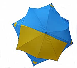 Stockschirm/Regenschirm/Sonnenschirm/Schirm mit Flaggenmotiv UKRAINE