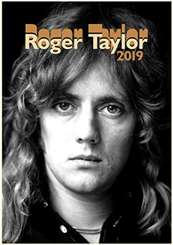 2019 Kalender [12 Pages 20x30cm] Roger Taylor Vintage Musik Photos Plakats Queen
