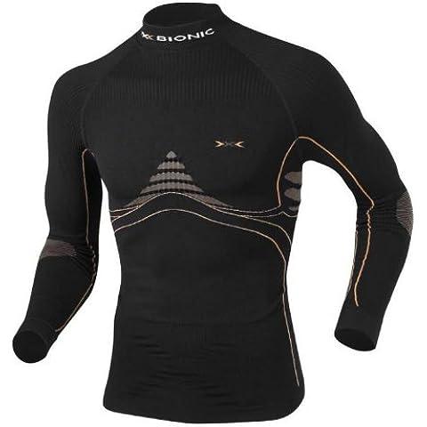 X - Bionic Eacc Shirt - Camiseta para hombre, tamaño XXL, color negro