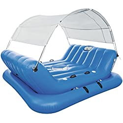 Flotador Bestway Coolerz Rock-N-Shade Isla Hinchable