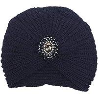 Young shinee Protezione Cappello di Lana per Adulti Autunno e Inverno Caldo  paraorecchie Gemma Berretto da 4f372f1877eb