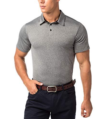 Respirant De Uni Polo ChinéXxl Manches Sport Courtes Shirt Lapasa M49noir Homme À qMUSpVz