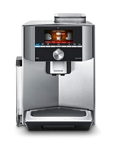 eq9 connect Siemens TI905201RW Espresso Machine (2,3 Liter Stainless Steel, Freestanding, fully-auto, Espresso Machine, Coffee Beans, Stainless Steel, 50/60Hz) edelstahl