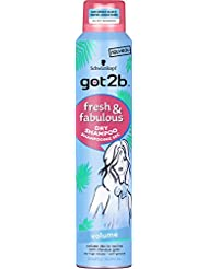 Got2B Shampooing Sec Fresh/Fabulous Volume