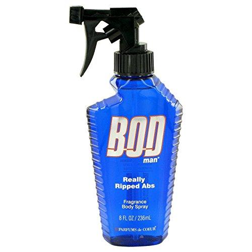 Parfums De Coeur Bod Man Really Ripped Abs Fragrance Body Spray 8 oz / 240 ml (Men)