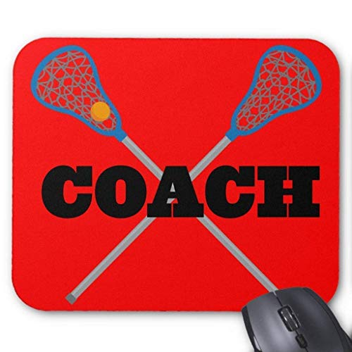 Wristband Lacrosse Coach Gift Idea Mouse Pad Computer Accessories Anti-Friction 18X22