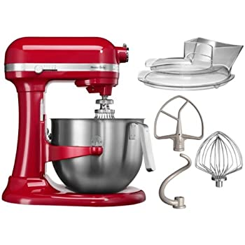 Amazon.de: Kitchenaid 5KSM7591XEER Küchenmaschine 1.3 HP Heavy Duty ...