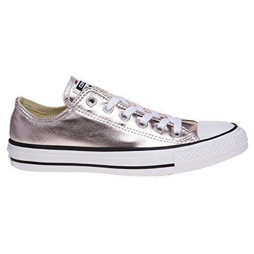 Converse Unisex-Erwachsene Ctas Ox Rose Quartz/White/Black Sneaker Mehrfarbig (Rose Quartz/White/Black)