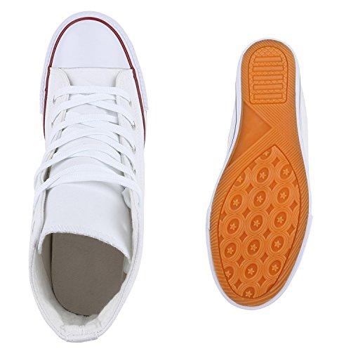 Damen Sneakers Stoff | Sneaker Wedges Blumen | Camouflage Sneaker Keilabsatz | Details Schuhe Zipper Denim Weiss Rot Schwarz