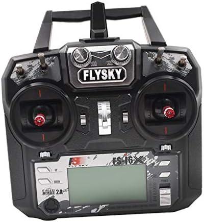 Homyl Flysky Transmetteur RC pour Système Radio 2,4 GHz 6 GHz avec Récepteur FS-iA6B | Des Technologies Sophistiquées