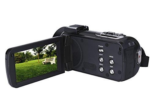 Chinavasion Ordro Z20 Wi-Fi Digital Video Camera - 1/4 Inch 8MP CMOS Sensor, 1080p Video, 24 MP Photos, 16x Digital Zoom, Anti-Shake