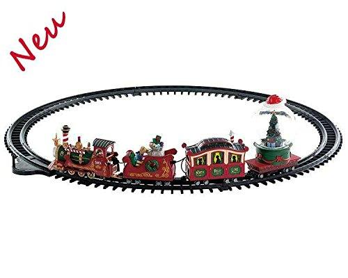 Lemax 74223 - North Pole Railway - Nordpol Eisenbahn - NEU 2018 - Santas Wonderland - Dekoration / Weihnachtsdeko - Weihnachtswelt / Weihnachtsdorf -