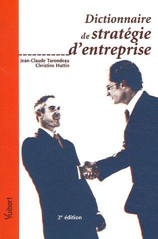 Dictionnaire de stratégie d'entreprise