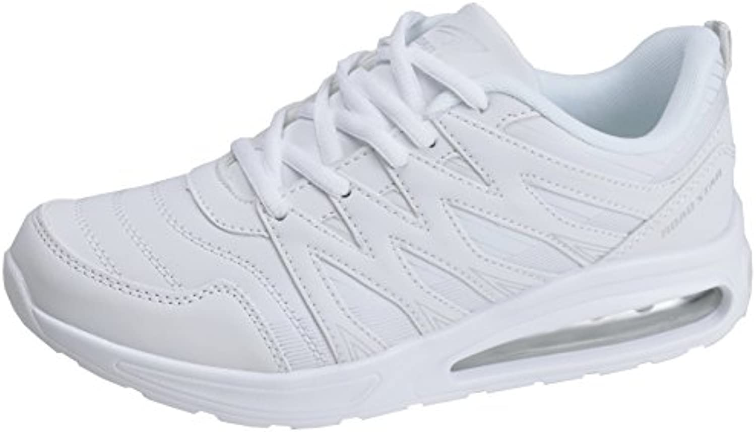 Lacoste Straightset Bl 1 SPW Wht, Zapatillas para Mujer -