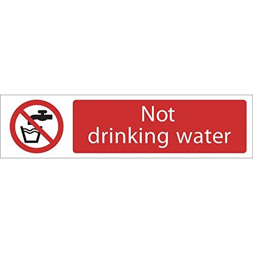 Draper 185826.30 cm, Warnzeichen, Not Drinking Water