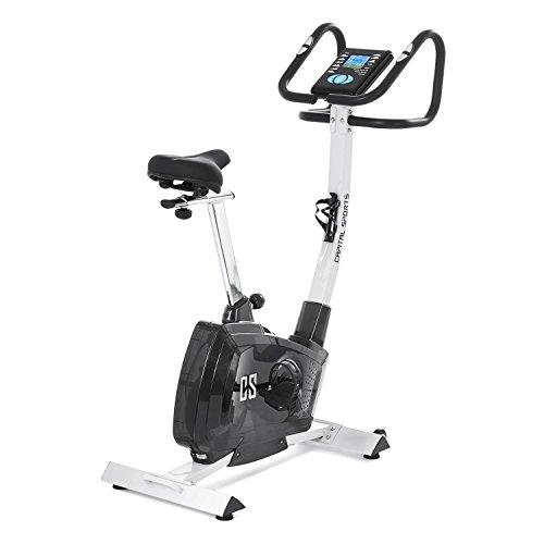 Capital Sports Durate • Cyclette • Ergometro • Cardio-Bike da Camera • Cardiofrequenzimetro • Resistenza Regolabile su 8 Livelli • Display LCD • Volano da 9 kg • 9 programmi • Max. 100Kg. • Argento