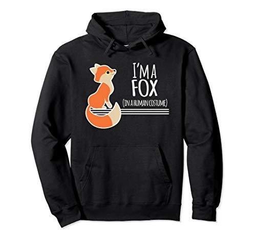 Kostüm Fox Red - Red Fox Kostüm Lustige Ich Bin Ein Füchse Halloween Pullover Hoodie