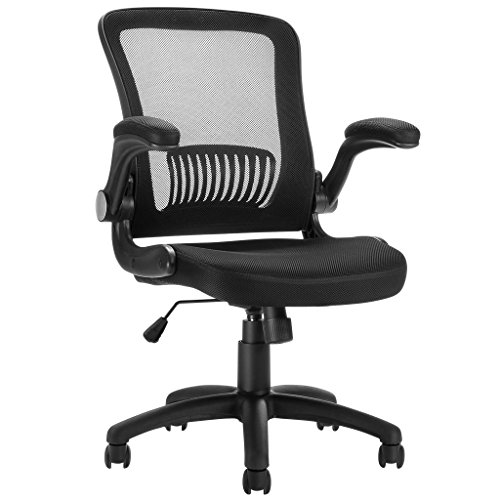 LANGRIA Mesh Office Chair, Ergonomic Mid-Back Design