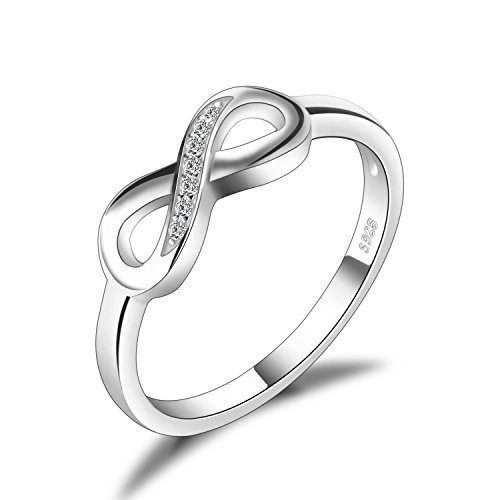 JewelryPalace Anillo infinito Amor Eterno de...