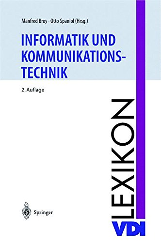 VDI-Lexikon Informatik und Kommunikationstechnik (VDI-Buch)