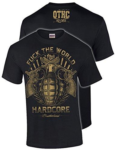 Oldtime Hardcore Clothing -  T-shirt - Basic - Uomo nero X-Large