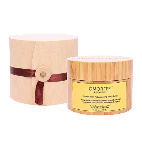 OMORFEE Organic Satin Sheen Rejuvenating Body Butter