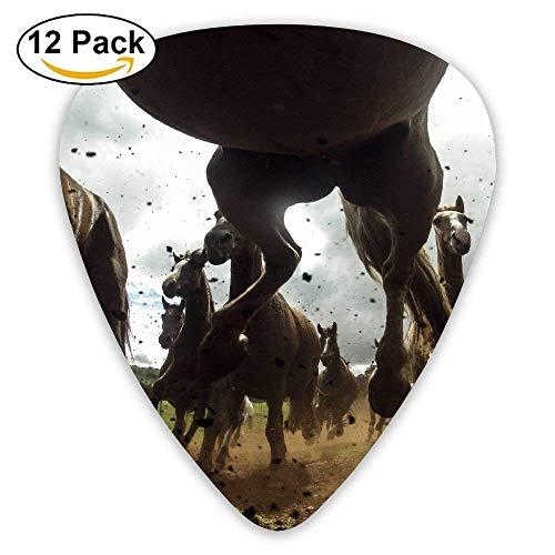 Running Horse Speed Guitar Picks - 12 pack -