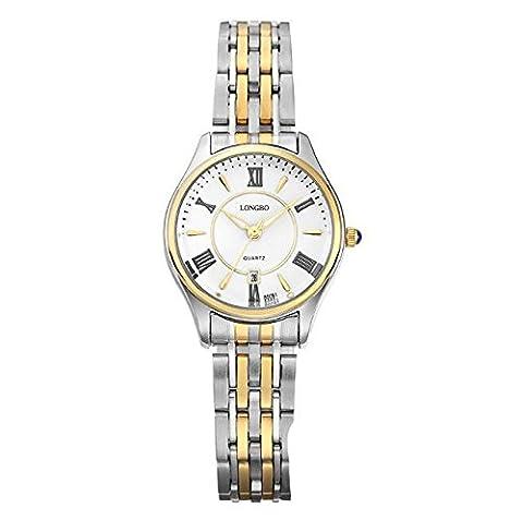 BIAOSHOU® Regarder Imperméabiliser Les Hommes Non Mécanique Seiko En Acier Inoxydable Bracelet Quartz Watch , E