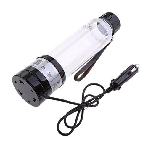 Preisvergleich Produktbild Gazechimp Wasserkocher Set Zigarettenanzünder 12V Elektronische Heizung Tasse für Auto LKW Wohnwagen Camping Reise - 280 ml (Zufällig Farbe)