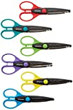 Polaroid 6 colorato decorativo Edge Scissor set per 2 x 3 photo Paper progetti (Snap, zip, Z2300)