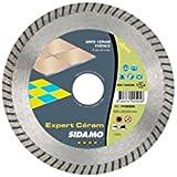 Sidamo - Disque diamant EXPERT CERAM D.125 x 22,23 x 7 x ép. 1,4 mm - JC cannelée - Spécial Grès Cérame - 11102505