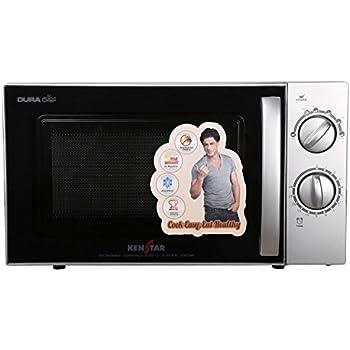 Kenstar 17 L Solo Microwave Oven (KM20SSLN, Silver and Black)