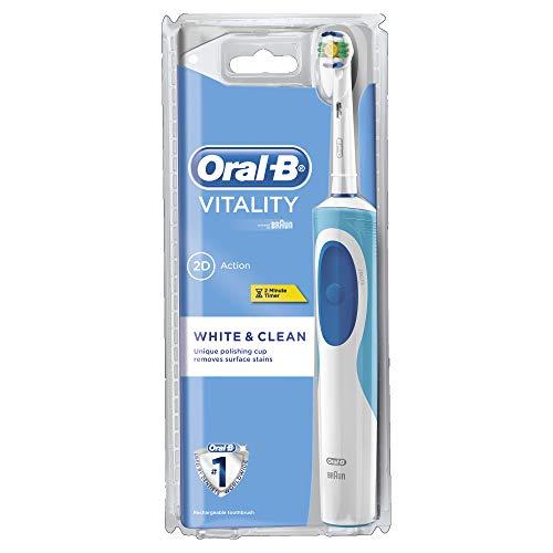 Oral-B 609994 Zahnbürste Vitality White and Clean D12.513 CLS - Oral-b Vitality Elektrische Zahnbürste