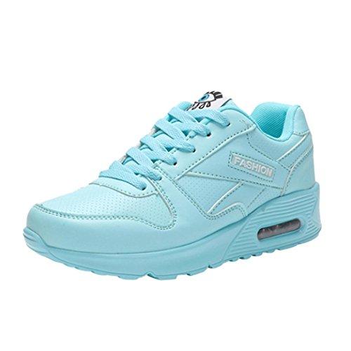 DEELIN Damen Schuhe Mode Freizeitschuhe Outdoor Wanderschuhe Wohnungen Lace up Damen Schuh (35,...