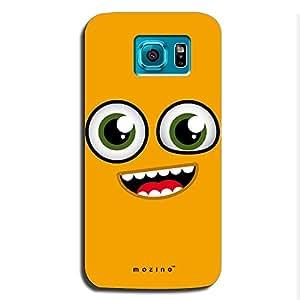Mozine Smiling Bug printed mobile back cover for Samsung s6