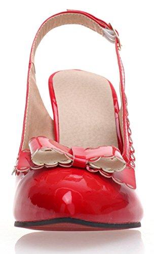YE , sac à bride femme Rouge - Rouge